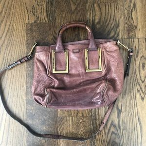Chloe Ethel Leather Satchel, 100% Authentic.